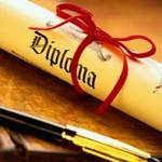 Consegna Diplomi studenti classi 5^ (a.s. 14/15)